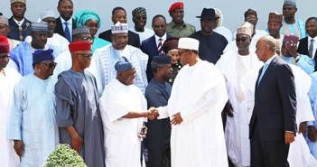 President Buhari and Ministers