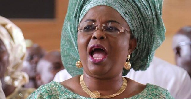 Former First Lady, Patience Jonathan