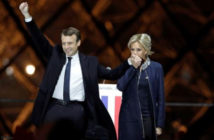 France President-Elect, Emmanuel Macron and the new First Lady