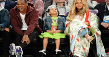 The Carters- Jay Z, Blue Ivy and Beyonce