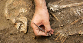 Researchers sequenced whole genomes from five Canaanites skeletons found in Sidon, Lebanon. (c) Reuters