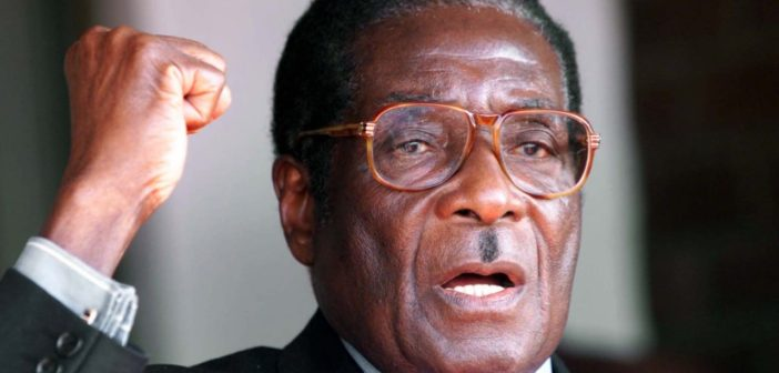 Mugabe Ousted In Bloodless Coup.