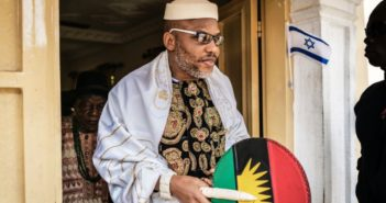 Leader of  Indigenous People of Biafra (IPOB), Nnamdi Kanu