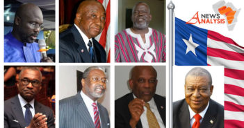 Liberia's presidential candidates