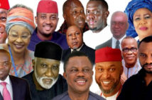 The candidates in Anambra State gubernatorial election