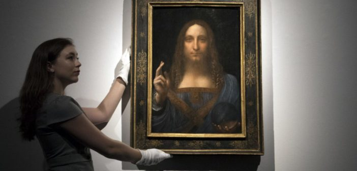 Da Vinci Painting Of Jesus Sold For A Whopping $450 Million