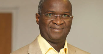 Minister of Power, Works and Housing, Babatunde Fashola (SAN),