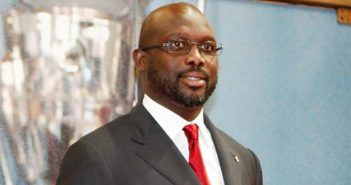 President-Elect of Liberia, George Weah
