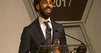 Liverpool and Egyptian forward, Mohammed Salah
