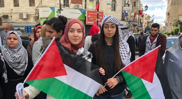palestinian-protesters